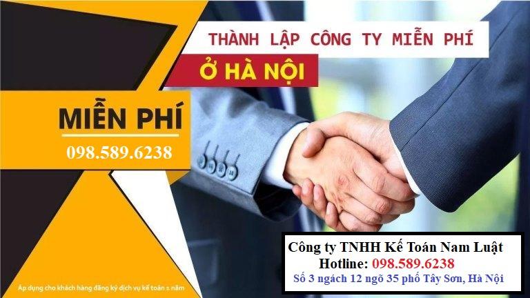 Dịch vụ mở công ty trọn gói tại Hà Nội giá rẻ – UY TÍN Hà Nội