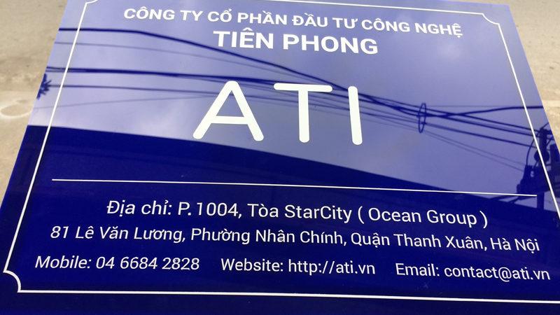 Dịch vụ làm biển công ty giá rẻ uy tín ở Hà Nội